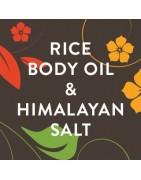 Rice Body Oil E Himalayan Salt - Estetica Daniela